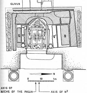 Fig 2 Konstantins monument ovanifrån