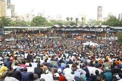 Uhuru Park i Nairobi