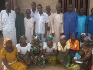 Kidnappade flickornas föräldrar Chibok