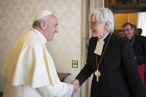 Påven_och_Antje Jackelén