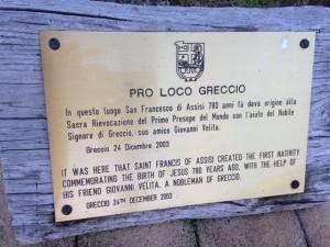 skylt Greccio