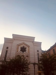 Bild på stora synagogan i Stockholm